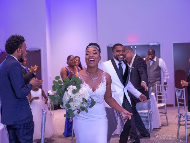 Devarge and Brittany's Wedding in Tamarac, Florida 8