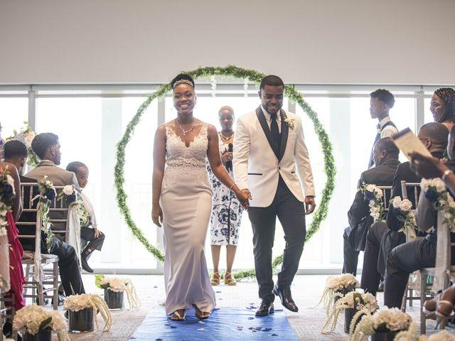 Devarge and Brittany's Wedding in Tamarac, Florida 9