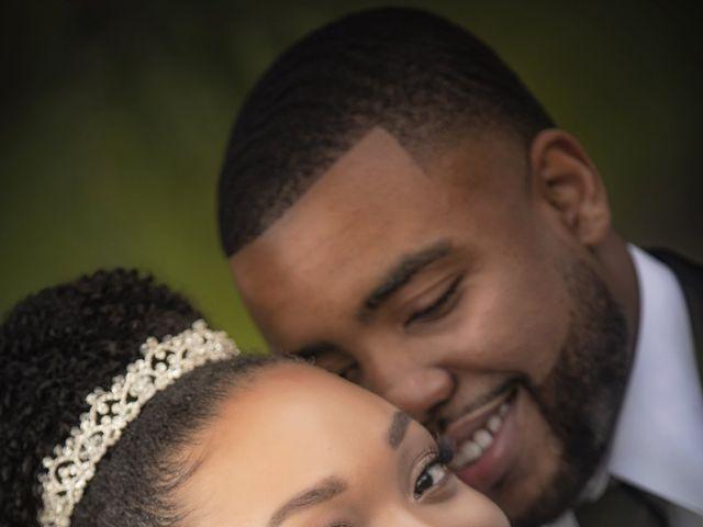 Devarge and Brittany's Wedding in Tamarac, Florida 12