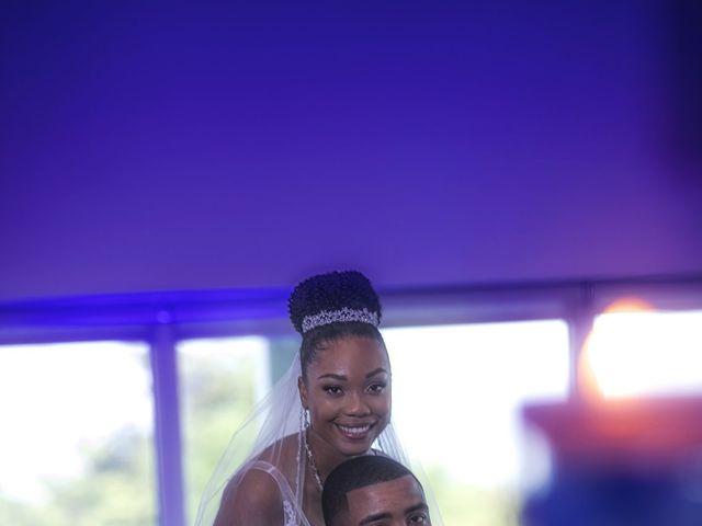 Devarge and Brittany's Wedding in Tamarac, Florida 13