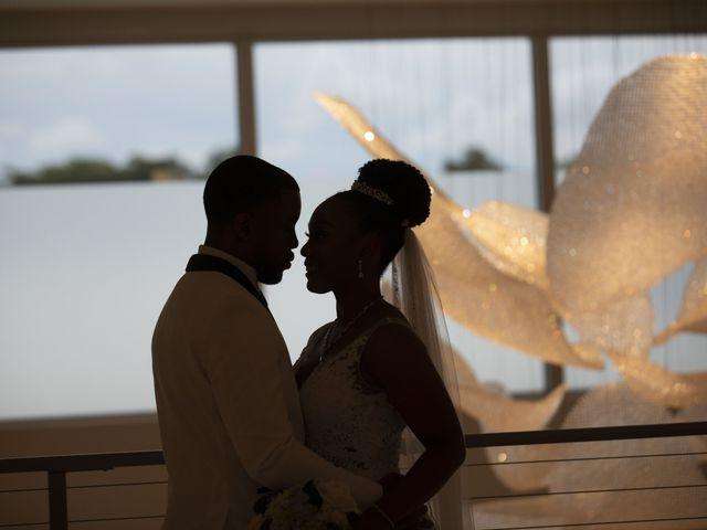 Devarge and Brittany's Wedding in Tamarac, Florida 14