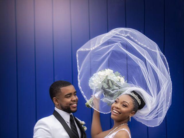 Devarge and Brittany's Wedding in Tamarac, Florida 17