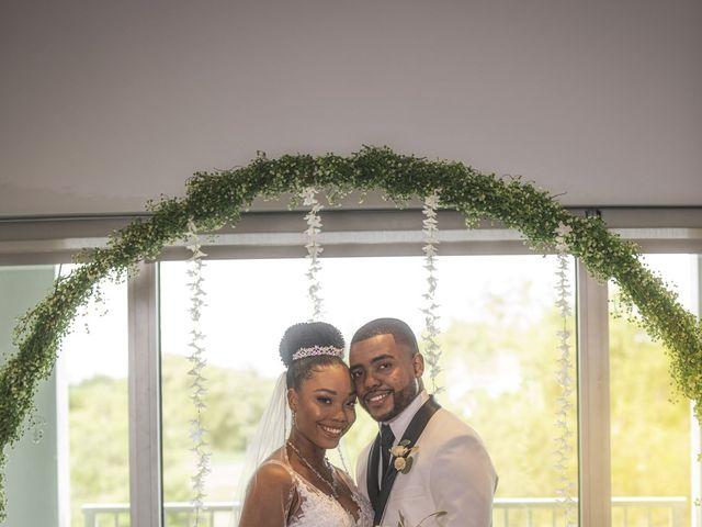 Devarge and Brittany's Wedding in Tamarac, Florida 19
