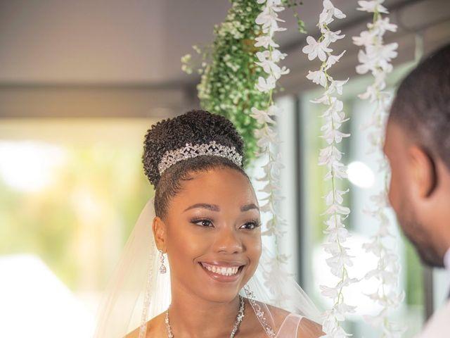 Devarge and Brittany's Wedding in Tamarac, Florida 24