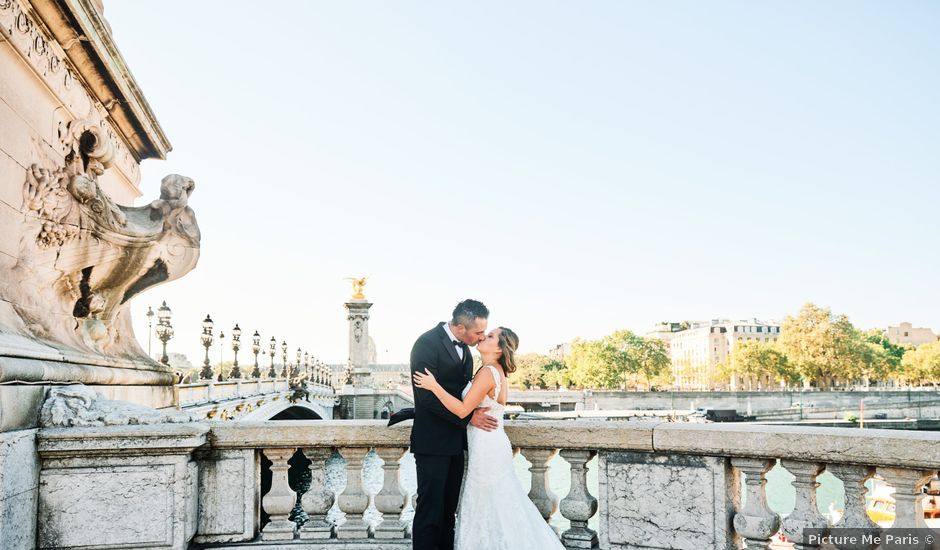 Pedro and Stephanie's Wedding in Paris, France