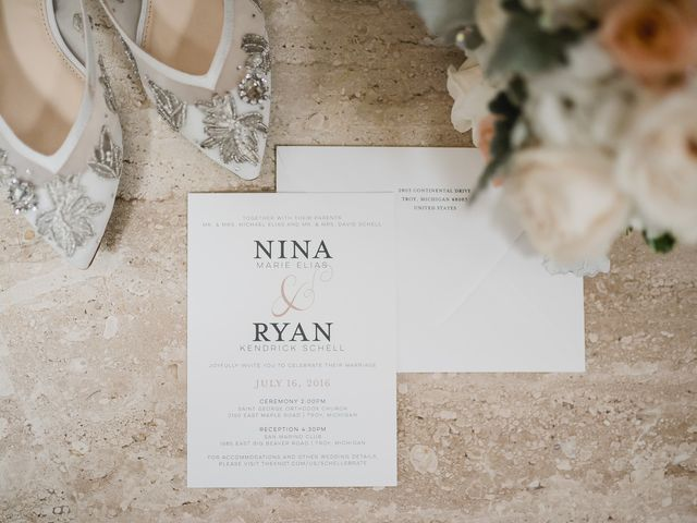 Nina and Ryan's Wedding in Troy, Michigan 2