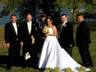 The wedding of James and Rachel