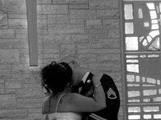 The wedding of James and Rachel 1