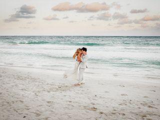 The wedding of Rachael and Evan