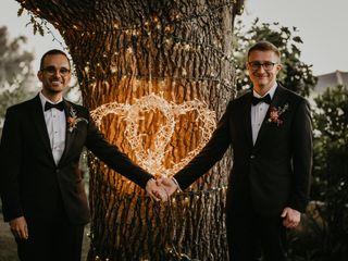 The wedding of Joe and Ryan