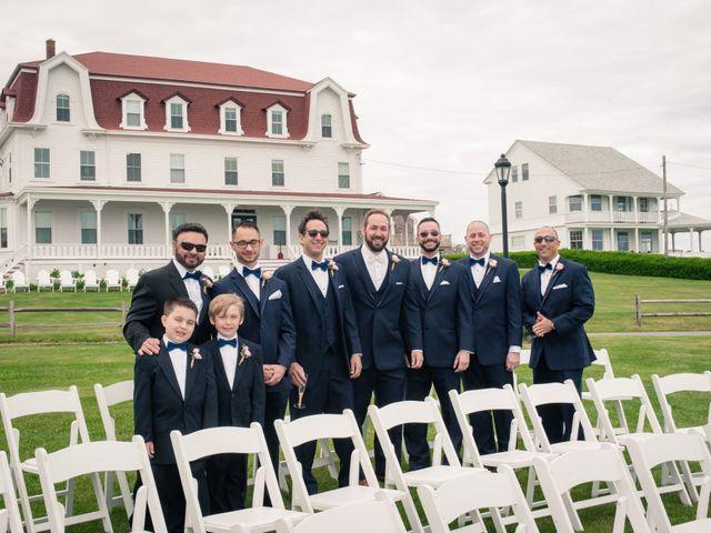 Brian and Laura's Wedding in Block Island, Rhode Island 3