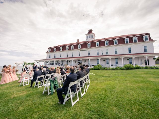 Brian and Laura's Wedding in Block Island, Rhode Island 20