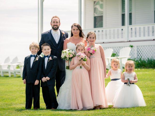 Brian and Laura's Wedding in Block Island, Rhode Island 40