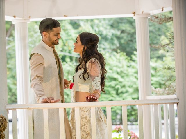 Pujush and Amrita's Wedding in Bridgewater, New Jersey 9