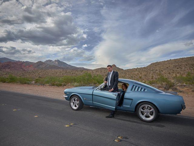 Roland and Kinga's Wedding in Las Vegas, Nevada 17