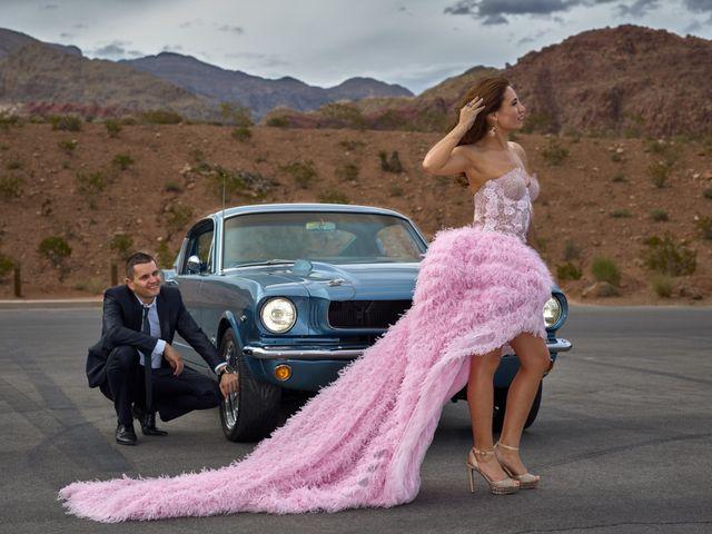 Roland and Kinga's Wedding in Las Vegas, Nevada 22