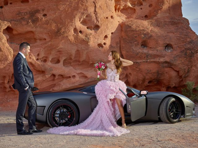 Roland and Kinga's Wedding in Las Vegas, Nevada 31
