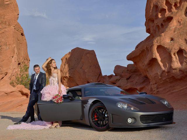 Roland and Kinga's Wedding in Las Vegas, Nevada 33
