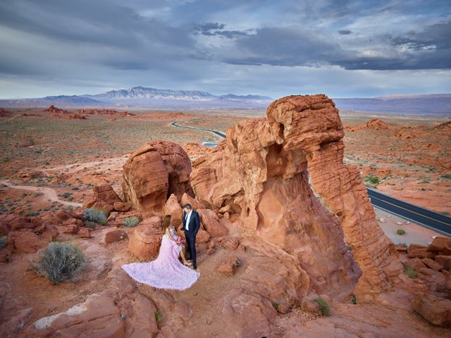 The wedding of Kinga and Roland