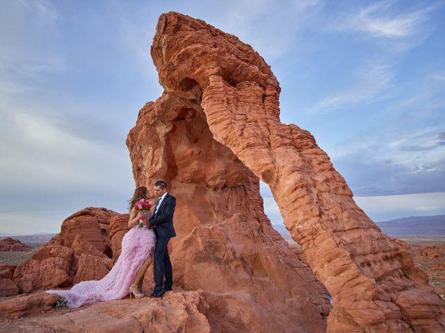 Roland and Kinga's Wedding in Las Vegas, Nevada 34