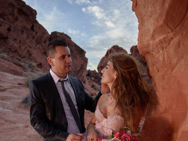 Roland and Kinga's Wedding in Las Vegas, Nevada 37