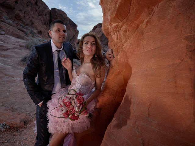 Roland and Kinga's Wedding in Las Vegas, Nevada 38