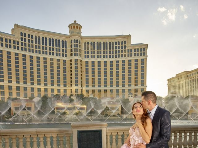 Roland and Kinga's Wedding in Las Vegas, Nevada 39