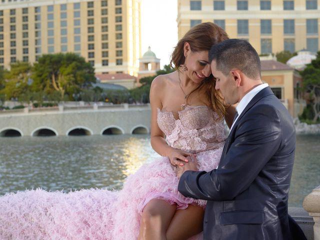 Roland and Kinga's Wedding in Las Vegas, Nevada 40