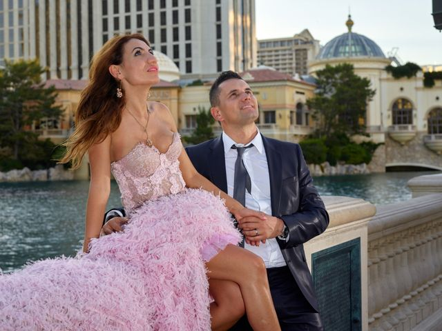 Roland and Kinga's Wedding in Las Vegas, Nevada 42