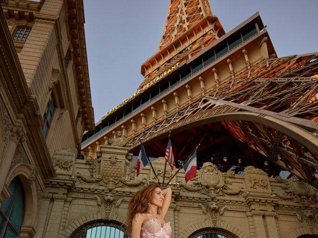 Roland and Kinga's Wedding in Las Vegas, Nevada 46