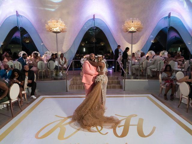 The wedding of Yanni and Kamal