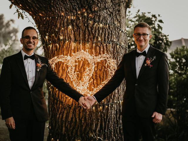 The wedding of Joe and Ryan