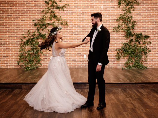 The wedding of Austin and Breanna