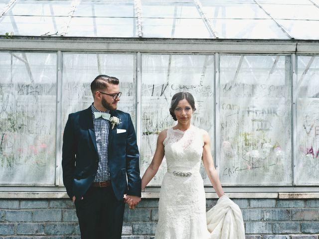 Ariel and Corey's Wedding in Detroit, Michigan 6