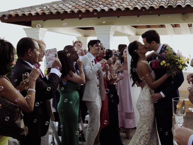 Tim and Tiarah's Wedding in Willemstad, Curacao 1