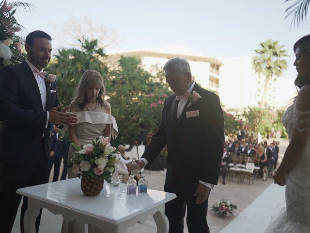 Stephen and Michelle's Wedding in Cancun, Mexico 1