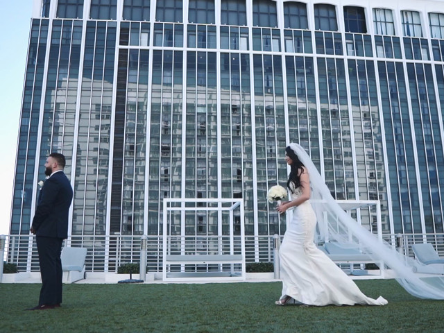 Roman and Emma's Wedding in Miami Beach, Florida 1