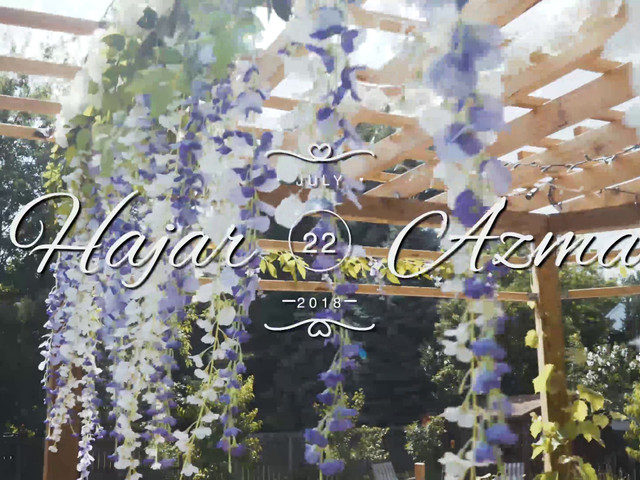 Azmad and Hajar's Wedding in Albany, New York 1