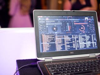 Ideal Media DJ, Lighting & Drape 1