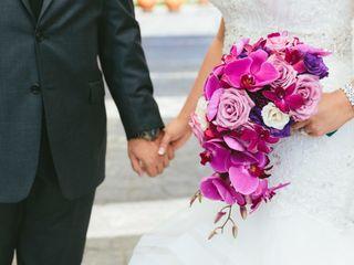Camellia Wedding Flowers 4