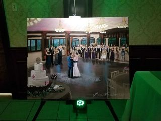 Artistic i Wedding - Live Painting 7
