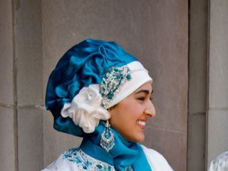 Hijab Couture Bridal 7