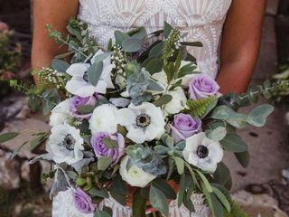 Sweet Lavender Flower Design 1