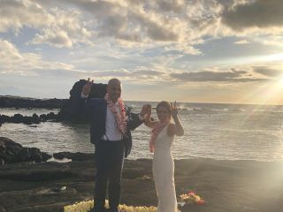 Simple Kona Beach Weddings 3