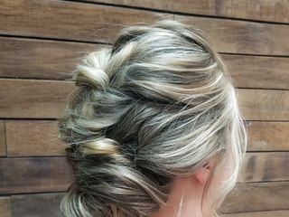 Twisted Fishtail Hair + Bridal 2