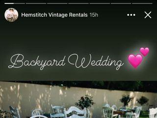 Hemstitch Vintage Rentals 2