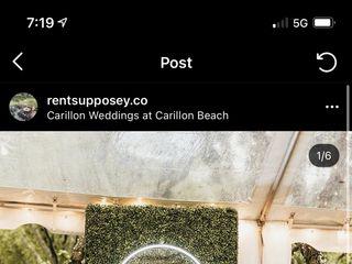 Carillon Weddings at Carillon Beach 5
