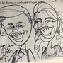 Adam Pate's 60 Second Strolling Speed Sketchers Caricatures and Entertainment 5