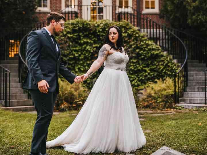 Andrea S Bridal Dress Attire Portland Me Weddingwire