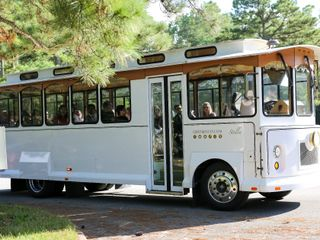 OBX Wedding Trolley 1